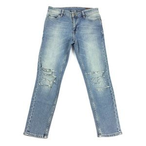 ASOS | Sliced Leg Distressed Jeans Imported & RARE